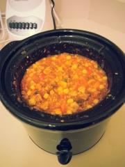 Quick Crock Pot No Bean Chili
