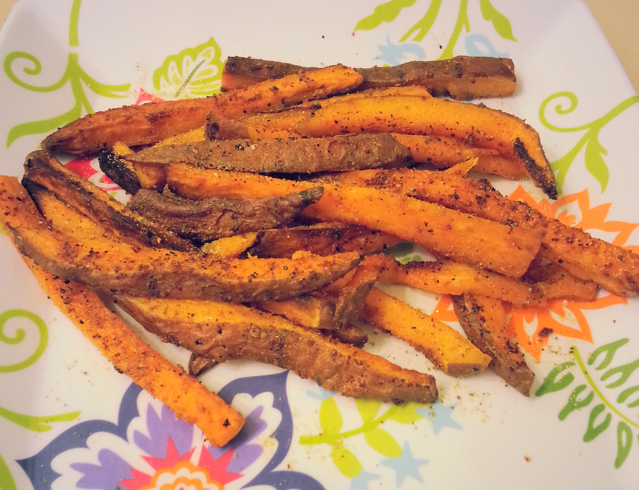 Oven Baked Sweet Potato Fries | Bitchin' In The Kitchen
