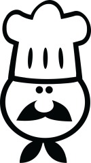 Stupid Looking Chef Cartoon
