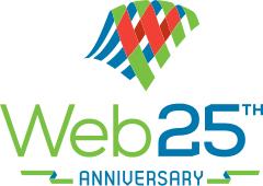 Web 25 Logo