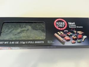 Dried Seaweed Sheets