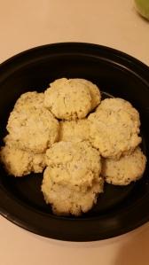 Lemon Chia Seed Protein Cookies!